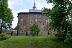 старая православная церков церковь Бориса и Gleb в городе Grodno Республики Беларусь стоковая фотография