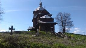Старая православная церков церковь Стоковое фото RF