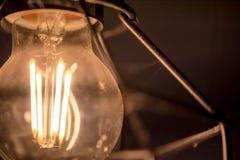 Старая предпосылка года сбора винограда электрической лампочки стоковое фото rf