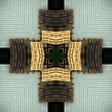 Старая прессформа и деревянные паллеты Стоковая Фотография