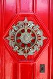 Старая предпосылка двери Стоковая Фотография RF