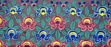 Старая предпосылка керамических плиток Стоковое Фото