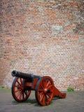 Старая предпосылка кирпичной стены карамболя Стоковая Фотография RF