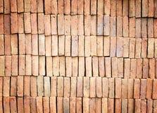 Старая предпосылка кирпичной стены Стоковое Фото