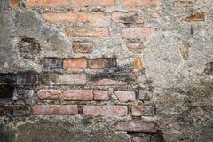 Старая предпосылка кирпичной стены grunge Стоковое Изображение RF