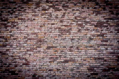 Старая предпосылка кирпичной стены grunge Стоковое Изображение