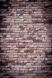 Старая предпосылка кирпичной стены grunge Стоковые Фото