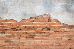 Старая предпосылка поверхности стены кирпичей grunge Стоковая Фотография