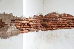 Старая предпосылка стены, текстура Стоковые Изображения