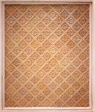 Старая предпосылка кирпичной стены Стоковая Фотография RF