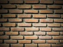 Старая предпосылка текстуры кирпичных стен Стоковое Фото