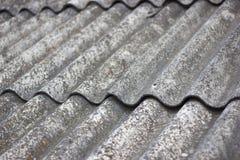 Старая предпосылка текстуры крыши Стоковые Фотографии RF