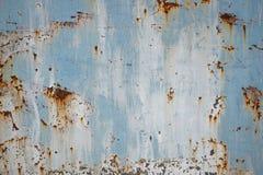 Старая предпосылка текстуры металла Стоковая Фотография RF