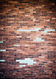 Старая предпосылка текстуры стены кирпичей Стоковая Фотография RF