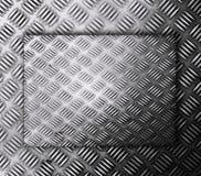 Старая предпосылка текстуры шаблона металла Стоковое Фото