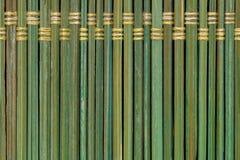 Старая предпосылка текстуры placemat соломы, конец вверх Стоковые Фотографии RF