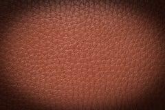 старая предпосылки коричневая кожаная текстура Стоковое Изображение RF