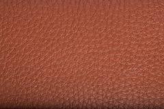 старая предпосылки коричневая кожаная текстура Стоковые Изображения