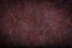 старая предпосылки коричневая кожаная текстура Стоковое Фото