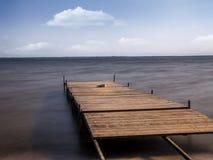 старая пристань деревянная Стоковое Фото