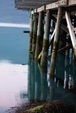 Старая пристань Стоковое Изображение