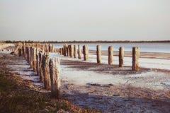 старая пристань Стоковое Изображение RF