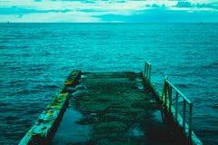 старая пристань Стоковое Фото