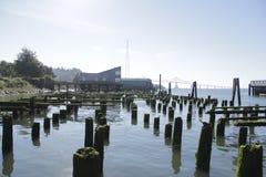 старая пристань Стоковая Фотография RF