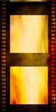 Старая прокладка фильма grunge Стоковое фото RF