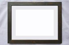 Старая пустая картинная рамка для изображения Стоковые Фотографии RF