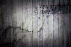 Старая пылевоздушная пакостная черная поверхностная текстура Стоковые Фотографии RF