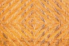 Старая плетеная предпосылка текстуры Стоковое Изображение