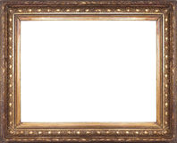 старая рамки золотистая Стоковая Фотография RF