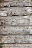 Старая распаденная деревянная дверь Стоковое фото RF