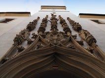 Старая ратуша в Брне, чехии Стоковое Изображение
