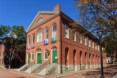 Старая ратуша, Салем, Массачусетс стоковые изображения
