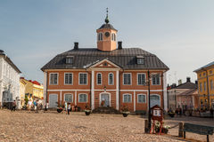 Старая ратуша bulding стоковая фотография rf