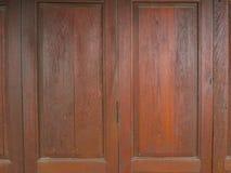Старая древесина двери Стоковые Фотографии RF