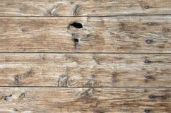 Старая древесина всходит на борт предпосылки Стоковые Изображения RF
