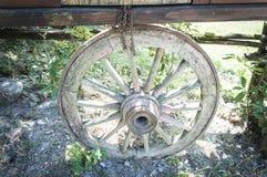 старая древесина колеса Стоковая Фотография RF