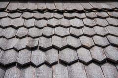 старая древесина крыши Стоковое Изображение RF