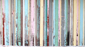 Старая древесина к текстуре предпосылки стены стоковая фотография rf