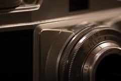 Старая ретро сетноая-аналогов камера стоковое изображение rf