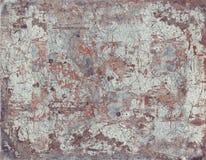 Старая ржавая грубая покрашенная текстура металла стоковые фото