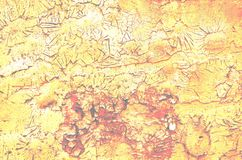 Старая ржавая краска с треснутой картиной поднял введенный в моду сбор винограда стоковая фотография rf