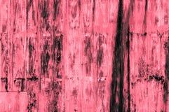 Старая ржавая предпосылка стены утюга красного цвета Стоковое Изображение RF