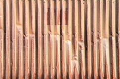 Старая ржавая стена цинка для предпосылки Стоковое Изображение RF