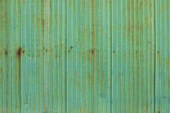 Старая ржавая стена цинка Стоковые Изображения