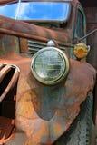 старая ржавая тележка Стоковые Фотографии RF