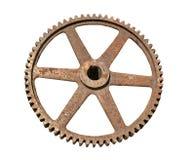 Старая ржавая шестерня металла Стоковые Фотографии RF